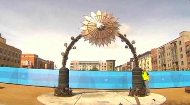 Sculpture Park Rises Up in Oakland