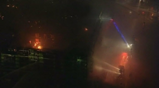 Massive Blaze Near AT&T Park Mostly Contained