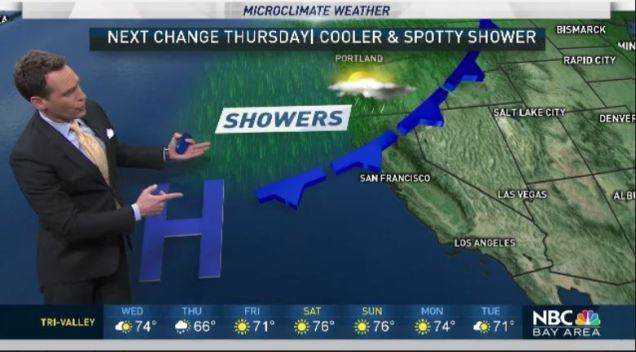 Jeff's Forecast: 70s and Next Shower Chance