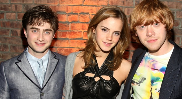 """Harry Potter"" Stars Come Out for NY Premiere"