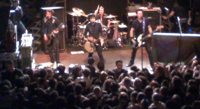 Green Day at the DNA Lounge Through an iPhone