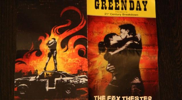 Green Day Schwag