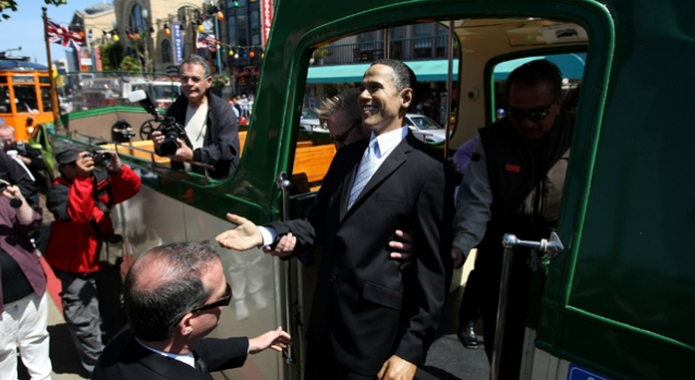 President Obama Waxes San Francisco