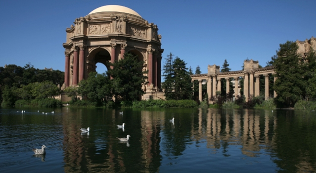 Palace of Fine Arts Gets a Face Lift