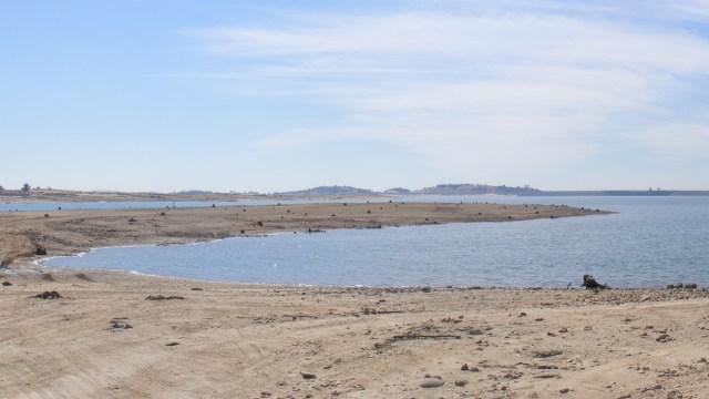 Folsom lake near record low levels nbc bay area for Folsom lake fishing report