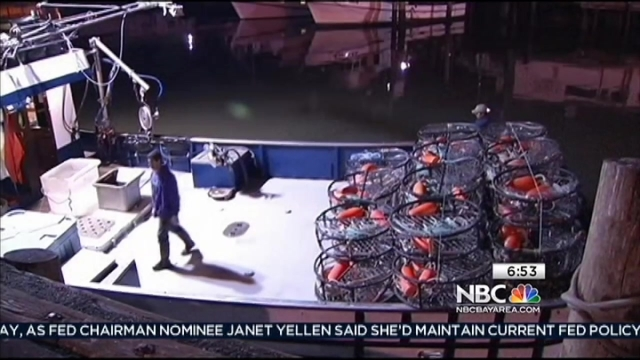 Weather delays San Francisco crabbers from retrieving their traps