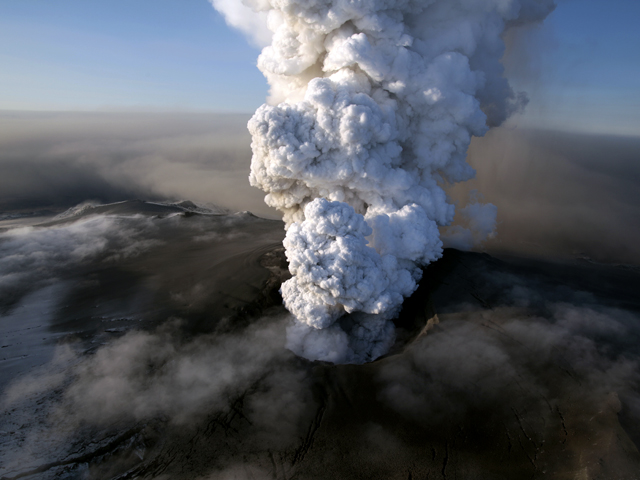 Amazing Nature Photos: Iceland Volcano