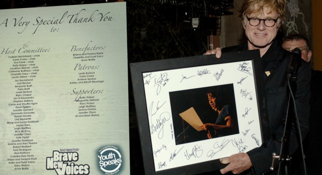 Robert Redford Finds Brave New Voices in San Francisco