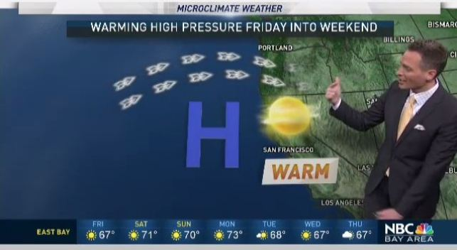 Jeff's Forecast: Much Warmer 70s