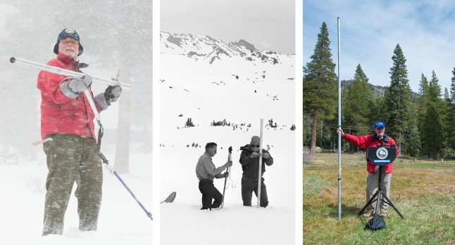 [LA GALLERY UPDATED 4/3/2018] California Snowpack Through the Years
