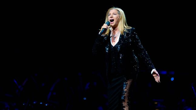 A Star is Gone: Streisand Says She'll Never Ever Tour Again