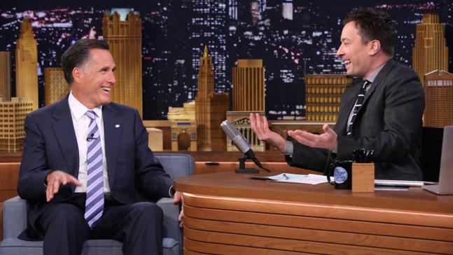 """""""Mitt in the Mirror"""" With Mitt Romney & Jimmy Fallon"""