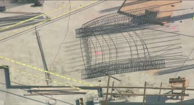 20-Foot Rebar Tower Falls in Fremont, Injuring 3, Including 1 Critically