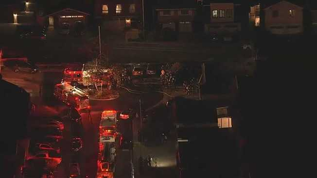 Crews Contain 2-Alarm Structure Fire in South San Francisco