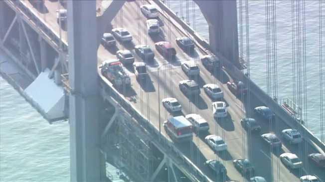 Hit-and-Run Collision Sparks Major Traffic on Bay Bridge