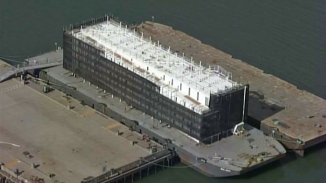 Google Sells Barge Docked in Maine