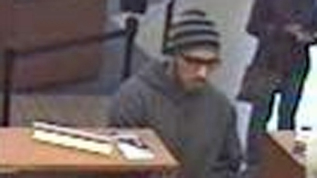 Petaluma Bank Robber Caught on Camera