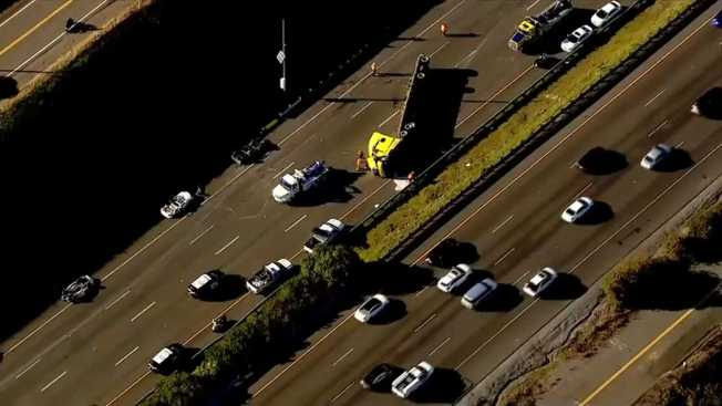 I-80 Reopens Following Crash Near Vacaville: CHP