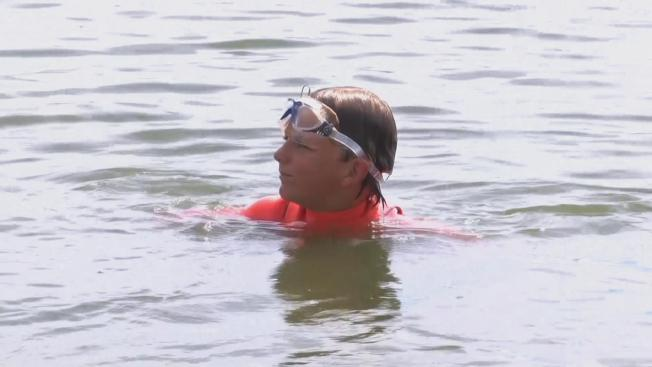 Nine-Year-Old Boy Sets Record With Swim From SF to Alcatraz and Back