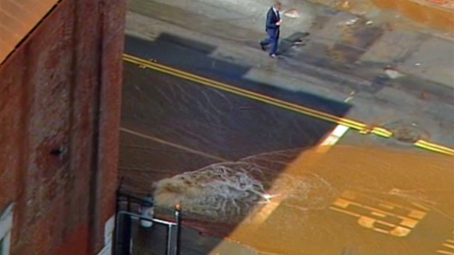 San Francisco Water Main Break Stops Traffic