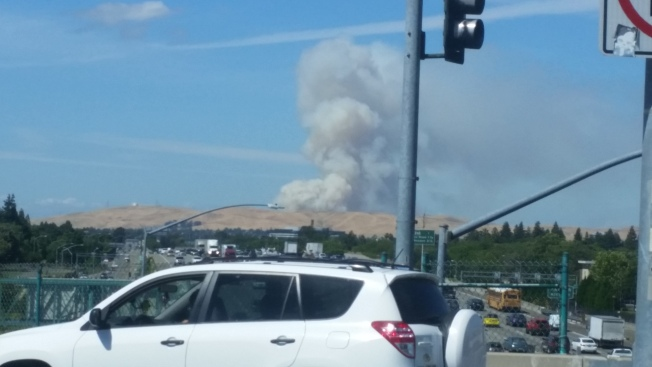 Large Fire Reported in Concord Area