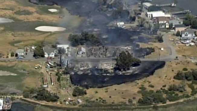 Solano County Fire Damages 7 Homes