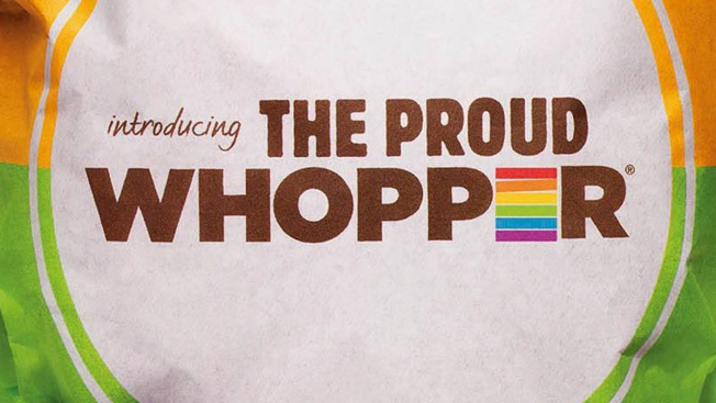 """Proud Whopper"" Wrapper on eBay -- For Over $1,000"
