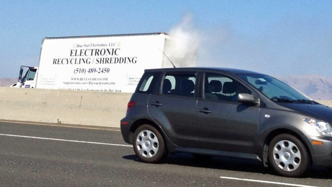 Lanes on Dumbarton Bridge Reopen After Truck Fire