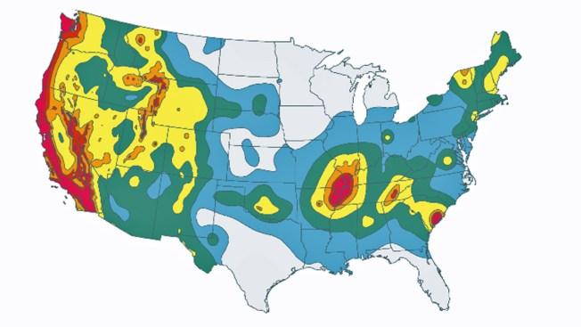 Usgs Widens Seismic Risk Zone In California Nbc Bay Area