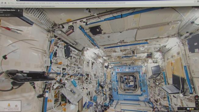 Google Street View Takes You Out of This World, Into the International Space Station