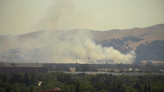 Solano County Firefighters Respond to Blaze Near Cordelia
