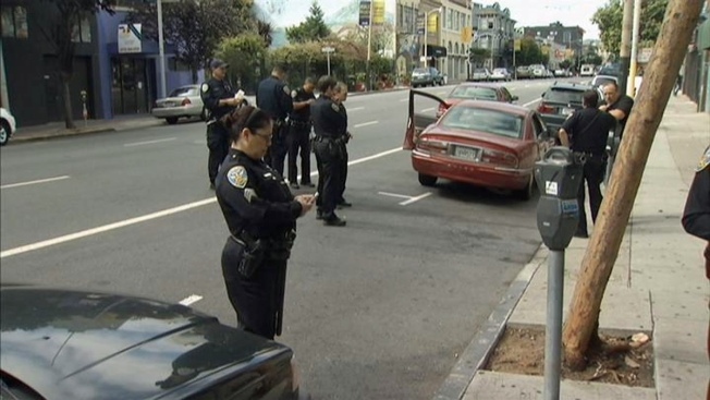 San Francisco Carjackers Toss Cash, Guns, Drugs from Vehicle