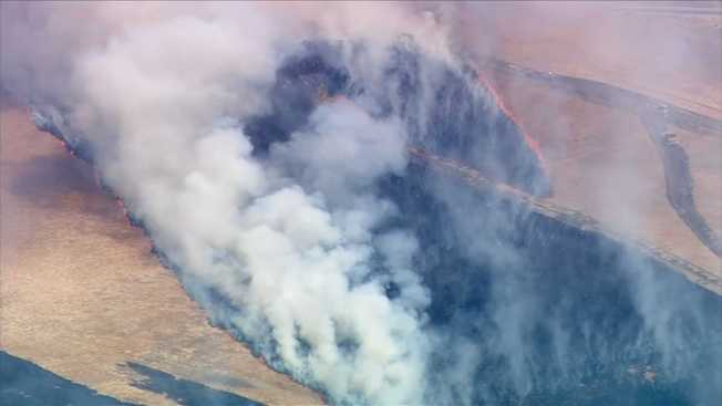 4-Alarm Brush Fire in Area of Grizzly Island in Suisun City