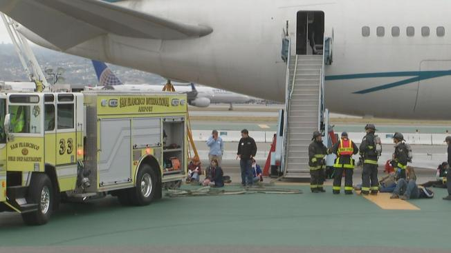San Francisco International Airport Preps for Emergency During Crisis Simulation