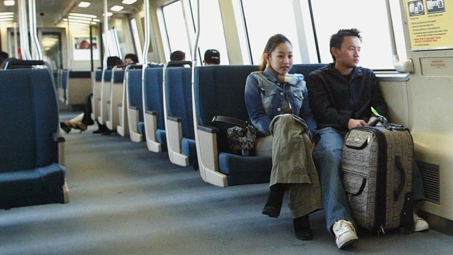 BART Testing Out New Seats on Trains