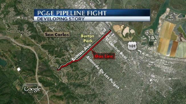 San Carlos May Spend $250,000 To Determine Safety of PG&E Pipe