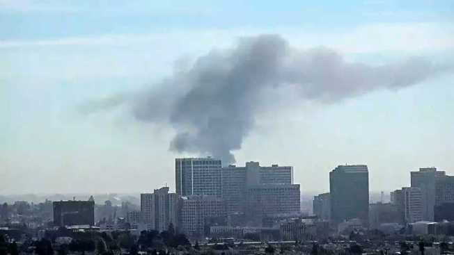 Crews Responding to Fire in Downtown Oakland