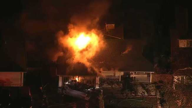 Crews Respond to Milpitas House Fire