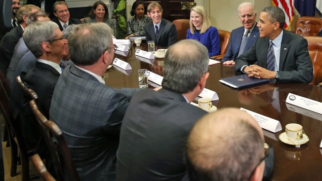 Tech CEOs Meet With President Barack Obama on HealthCare.gov