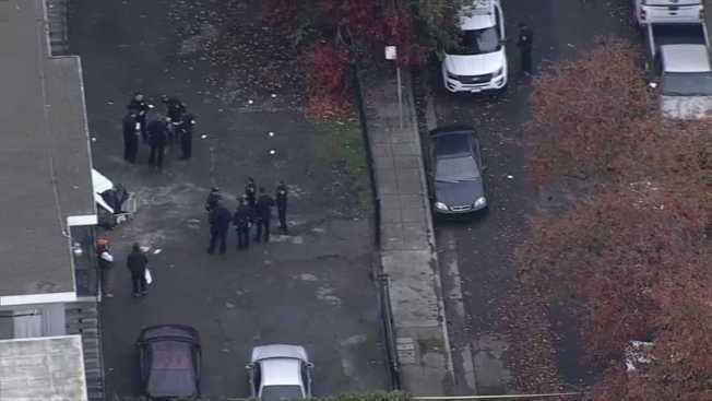 Oakland Police Respond to Reported Shooting