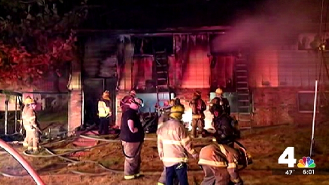 Son Can't Save Mother from Christmas Day Fire