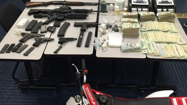 Contra Costa Detectives Seize Drugs, Firearms, Stolen Motorcycle and Cash From Antioch House