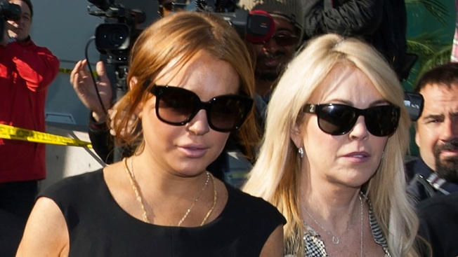 Lindsay Lohan and Mom Dina Sue Fox News for Crack About Them Doing Cocaine Together