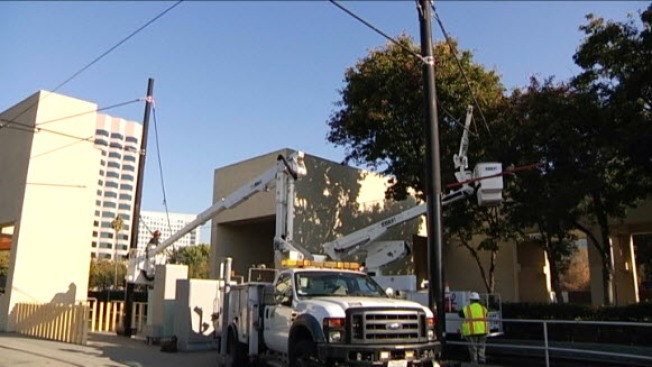 Damaged Power Line Shuts Down VTA Service, Power Still Down at Two Stations