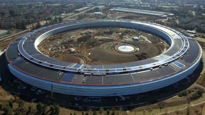 Apple's 'Spaceship' Campus Nears Its Completion, Drone Footage Captures Final Touches