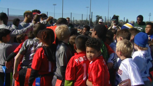 Free Football! East Bay Youngsters Benefit From Flag Football League