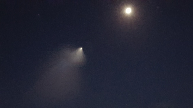 Mystery Solved! Defense Missiles Light up Bay Area Sky