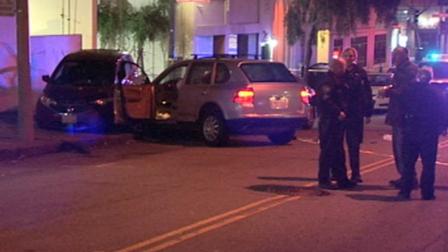 Man Gunned Down Following Car Crash in San Francisco