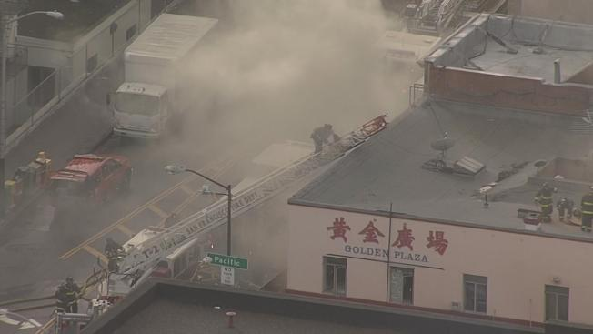San Francisco Chinatown Blaze Displaces 25 People