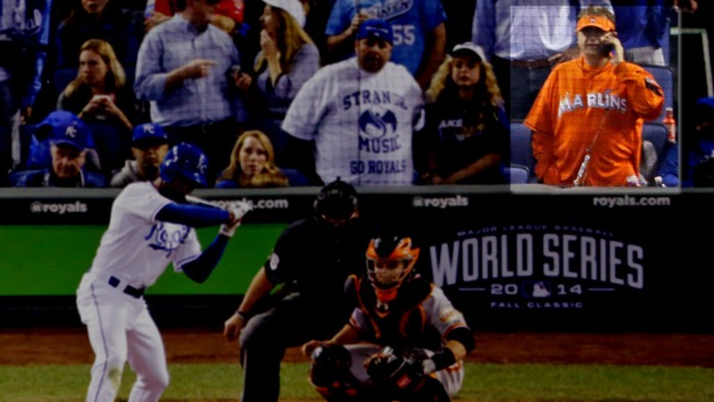 'Marlins Guy' Causes Quite a Stir at World Series Games